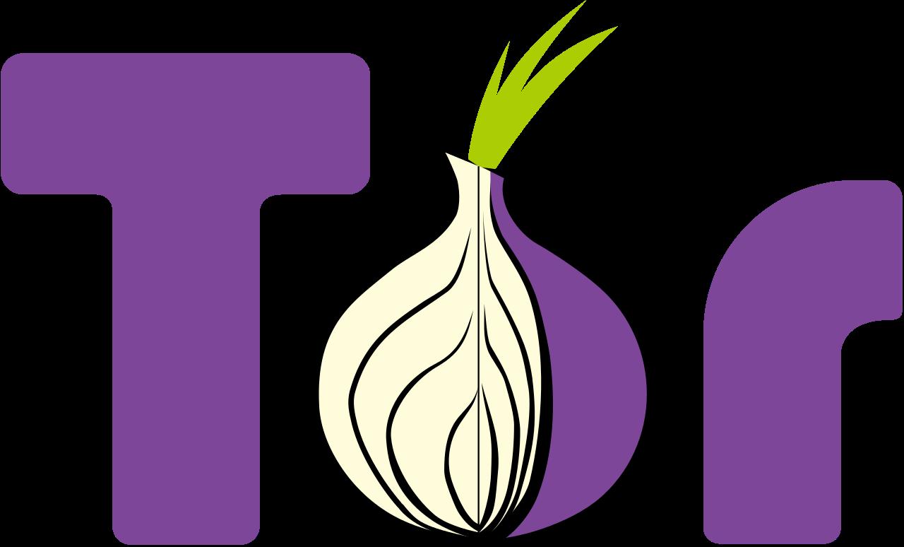 Tor browserens logo